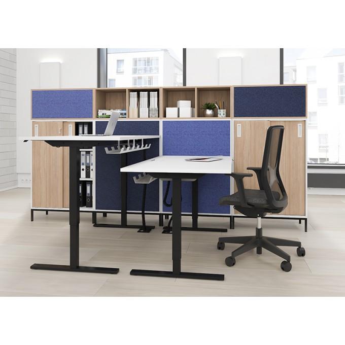 bureau easy plan de travail r glable en hauteur electriquement. Black Bedroom Furniture Sets. Home Design Ideas