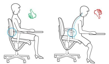 Posture Siège ergonomique